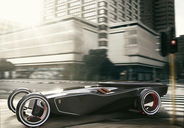 Futuristic 2030 Rolls Royce Eidolon Concept Car Features Un