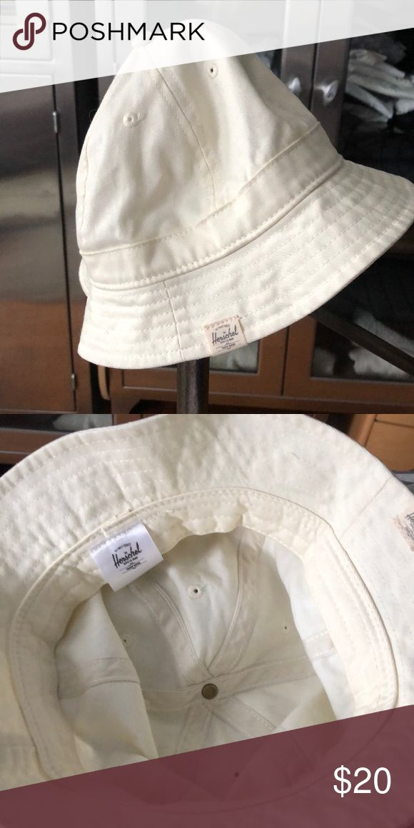 f20602cdc2a9b5 Just purchased, but never worn Herschel cream colored bucket hat. Herschel  Supply Company Accessories Hats