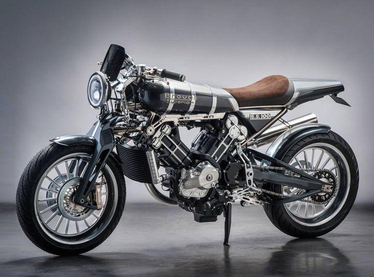 The Brough Superior SS100, Titanium model, £43,000