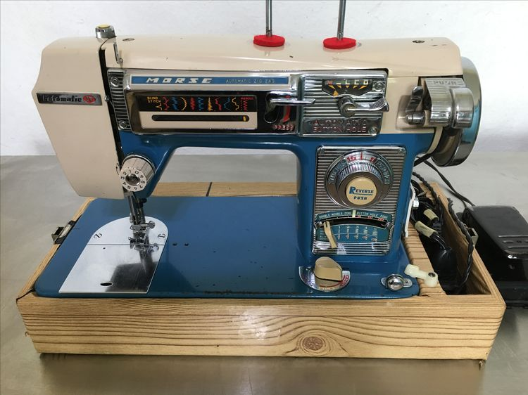Morse Fotomatic IV 40 Vintage 40 Luv Luv Luv My New Awesome Morse 4400 Sewing Machine
