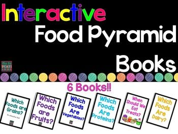 food pyramid interactive books adapted books for special
