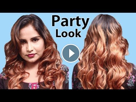 Beautiful Hairstyles For Party Look Easy Party Hairstyle