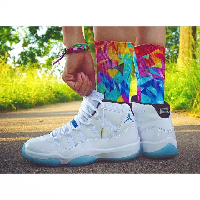 e74fe70a55d ... promo code for laced up laces white gold wax x air jordan 11 legend  blue by