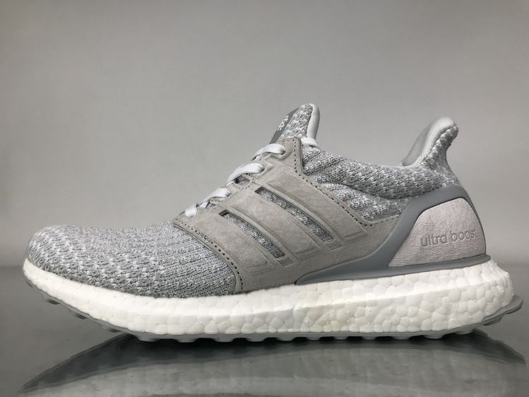 """8f27e4445 Reigning Champ x Adidas Ultra Boost 3.0 """"White Grey"""" Real Boost BW1122 Men  Women Ladies Girls Real Boost  36-45"""