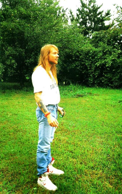 Axl In His Hometown Of Lafayette Indiana He Helped Plant T