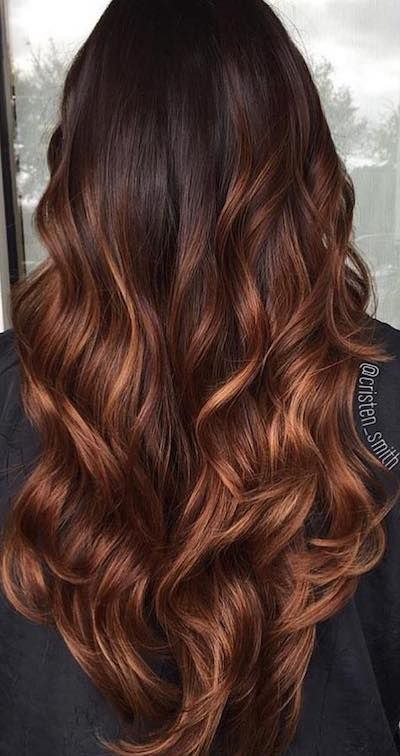 Amazing Hair Color Ideas To Try This Year #cabelo Stunning brown hair color