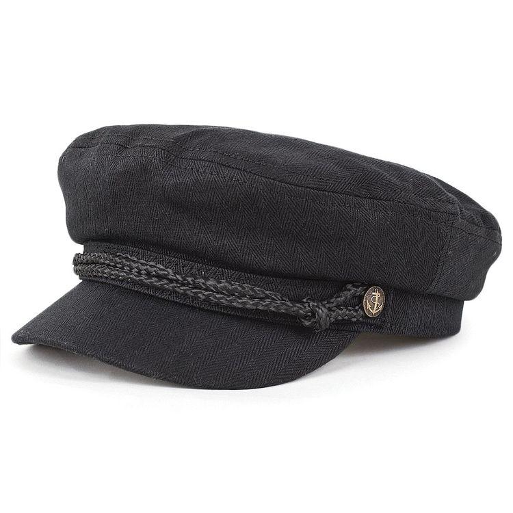 5bdc059c33b65 Brixton Hats Fiddler Cap - Black
