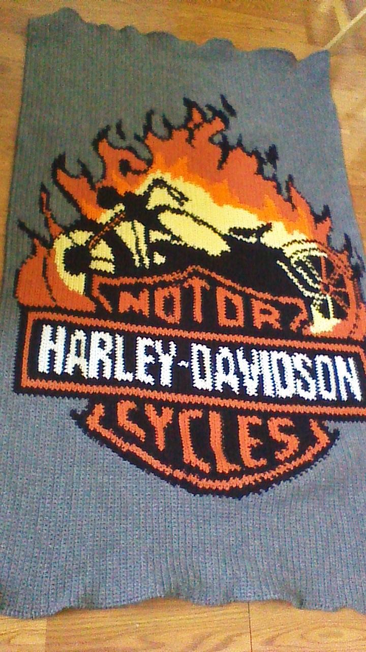 Harley Davidson Afghan This Is The Front Side June2015