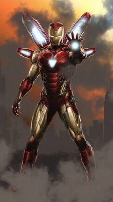 Iron Man, Avengers Endgame, 4K, HD Mobile and Desktop wallpaper (3840x2160, 1920x1080, 2160x3840, 1080x1920) resolutions.