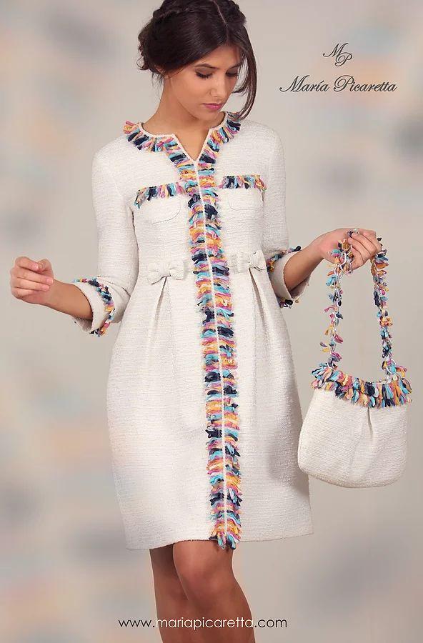 Coleccion de vestidos de fiesta de maria picaretta