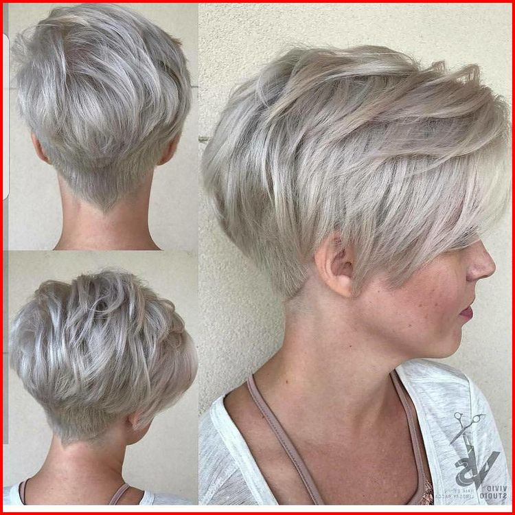 Light Ash Blonde Short Hairstyles