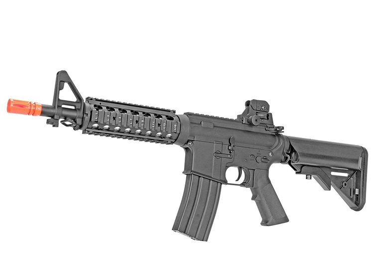 MetalTac Electric Airsoft Gun M4 JG-F6624 with Metal Gearb