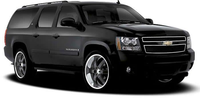 Boss 330 Black Wheels Chevrolet Suburban Black