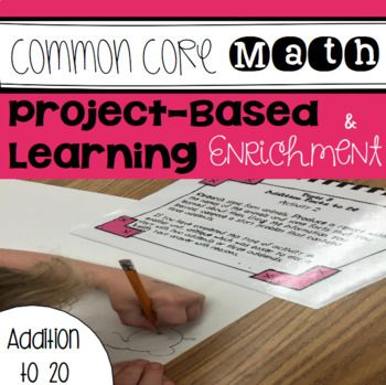 Math Project Based Learning Enrichment For Addition Fact