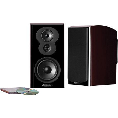 "Polk Audio - 6.5"""" Bookshelf Loudspeaker (Each) - Midnight Mahogany"