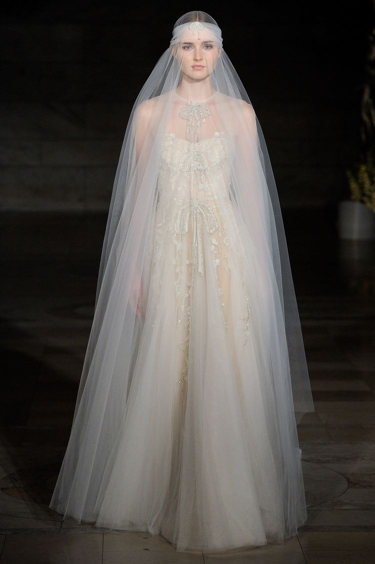 Reem Acra Bridal & Wedding Dress Collection Fall 2019 | Br