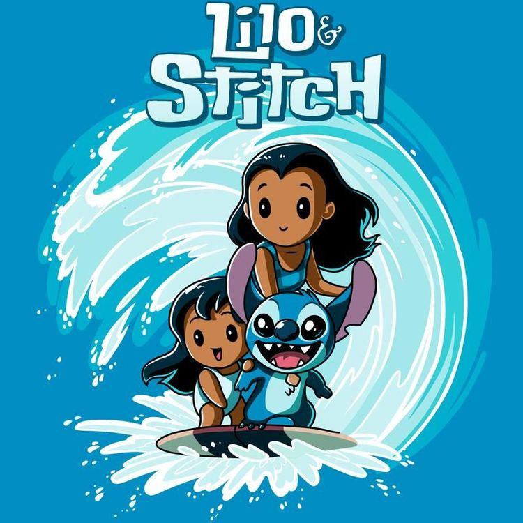 1aa3c3a1a Disney Lilo Stitch - T-Shirt / Mens / S