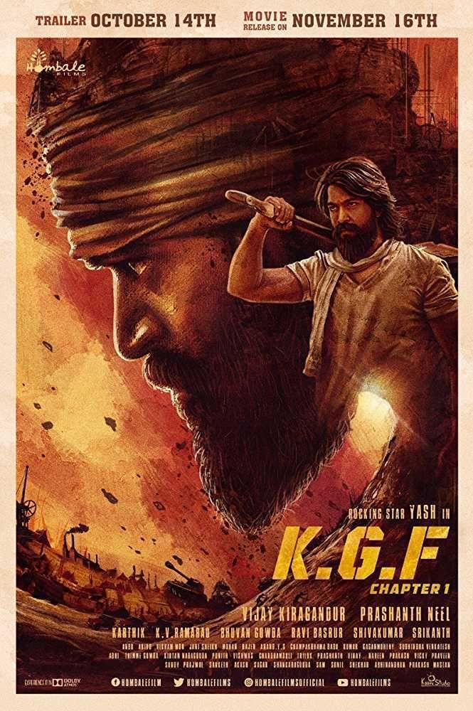 K G F: Chapter 1 (Kolar Gold Fields) (2