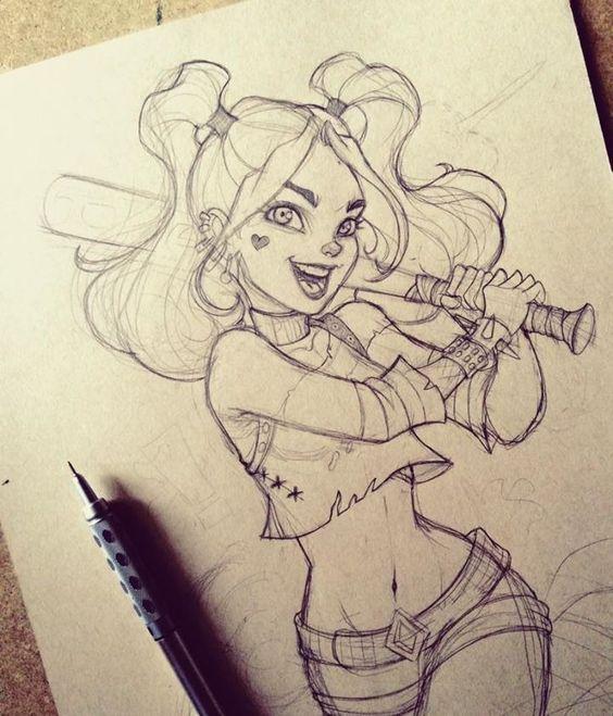 Arte impressionante: Poison Ivy, coisas estranhas, Harley Quinn e muito mais - Comic V