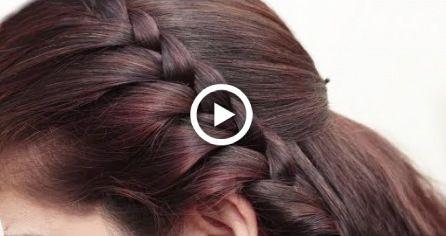 Penteados tradicionais indianos para festa / função / casamento ||  Penteados para cabelos longos