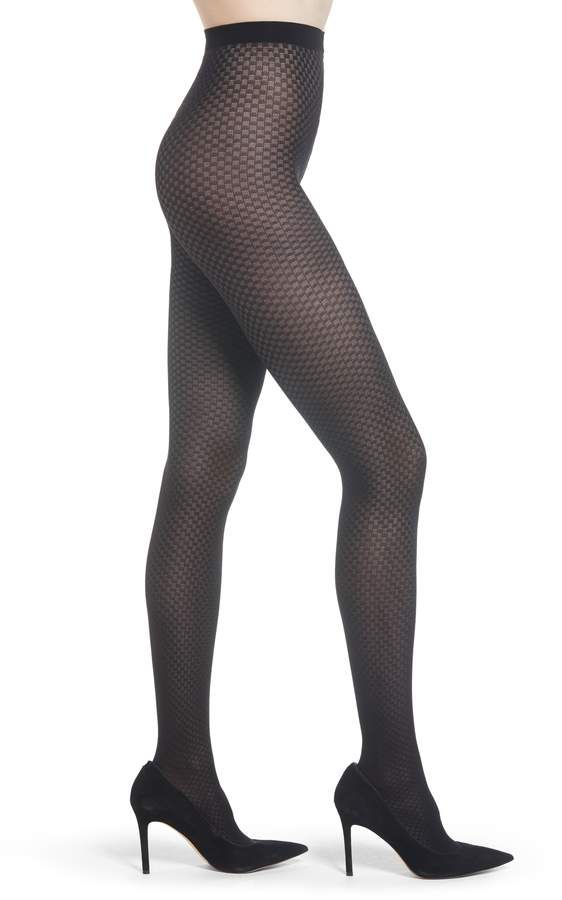 f18863a298ec1 Wolford Tess Check Tights   Nordstrom