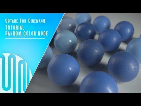 Random Color Node - Octane for Cinema4D | MNIB - YouTube