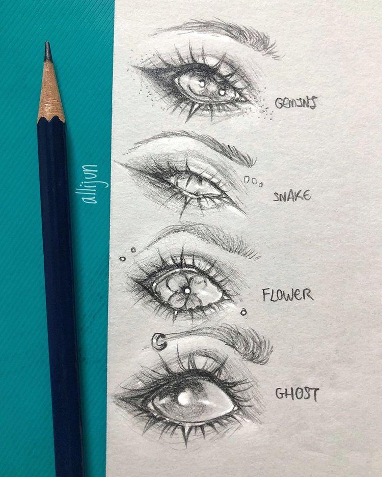 Aprenda a desenhar olhos - Drawing On Demand