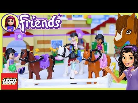 Lego Friends Summer Riding Camp Part 2 Build Review Silly P