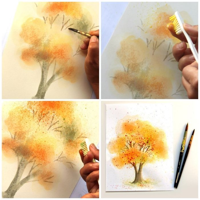 ▷ 1001 + ideas and techniques to create an easy watercolor painting