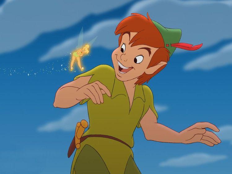 Peter Pan Disney dieulois