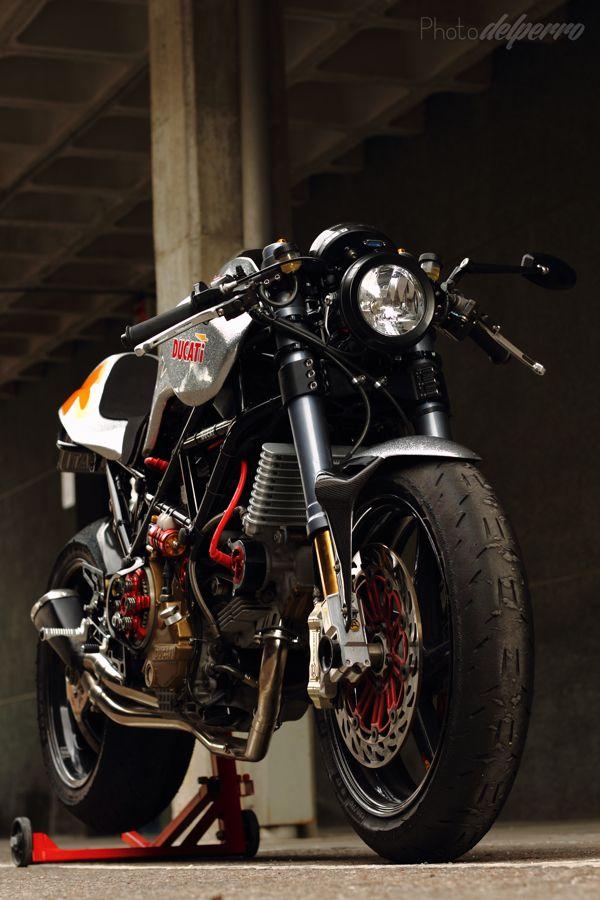 Silver Shotgun by Radical Ducati (pictures) by raul delperro, via Behance