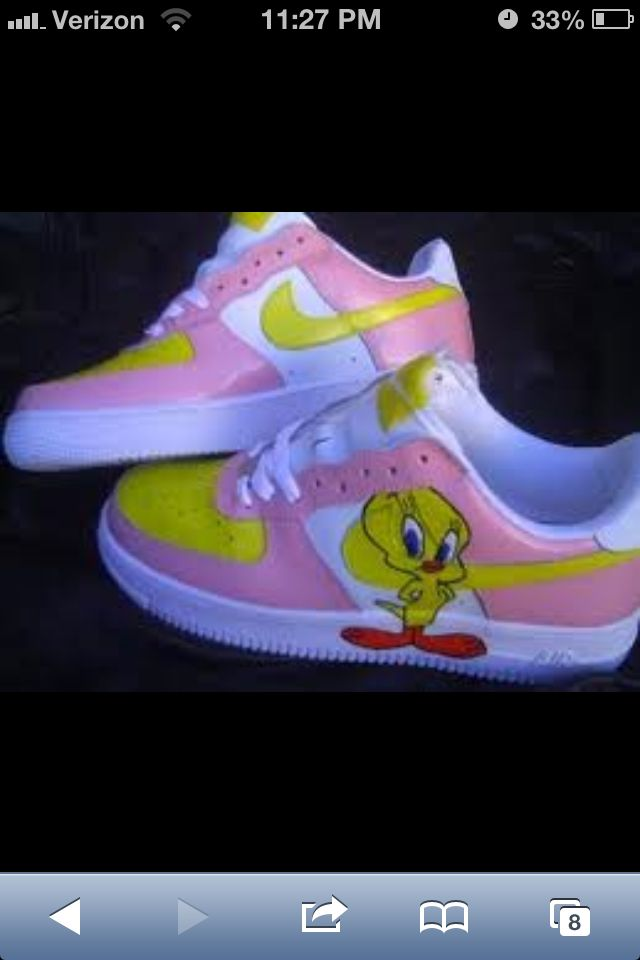 free shipping 53939 3625d Image result for Tweety Bird Shoes  Tweety  Pinterest  Sneakers,  Sneakers nike and Bird shoes