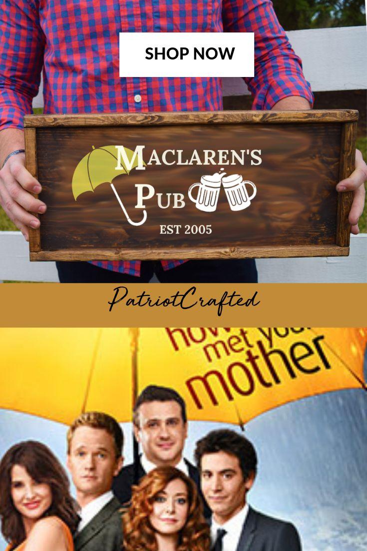 Maclarens Pub How I met Your Mother Stocking Stuffer TV Sh