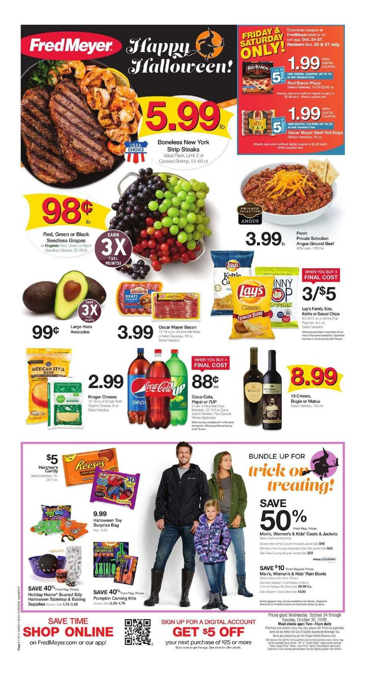 79ebbd1e7813 Fred Meyer Weekly Ad flyer January 16 - 22