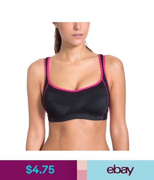 ce0b6c1d15 Women s Wirefree Side Open Side Support Extensible Mesh Sports Bra  ebay   Fashion
