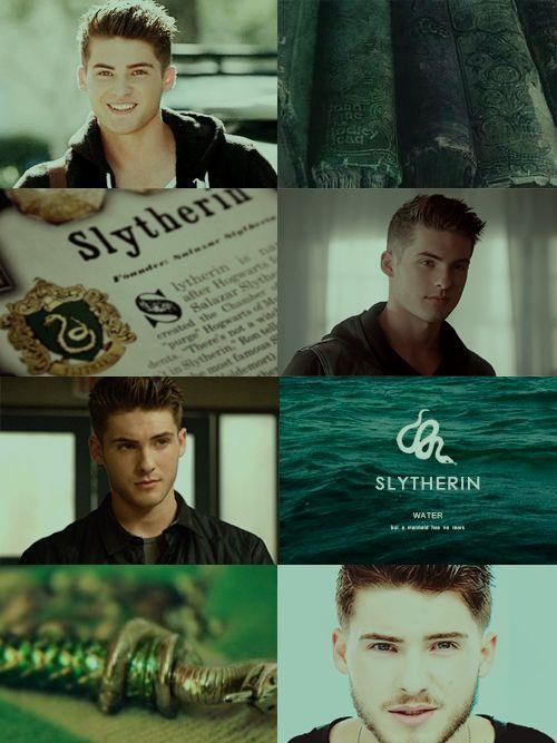Imagen de hogwarts, slytherin, and teen wolf