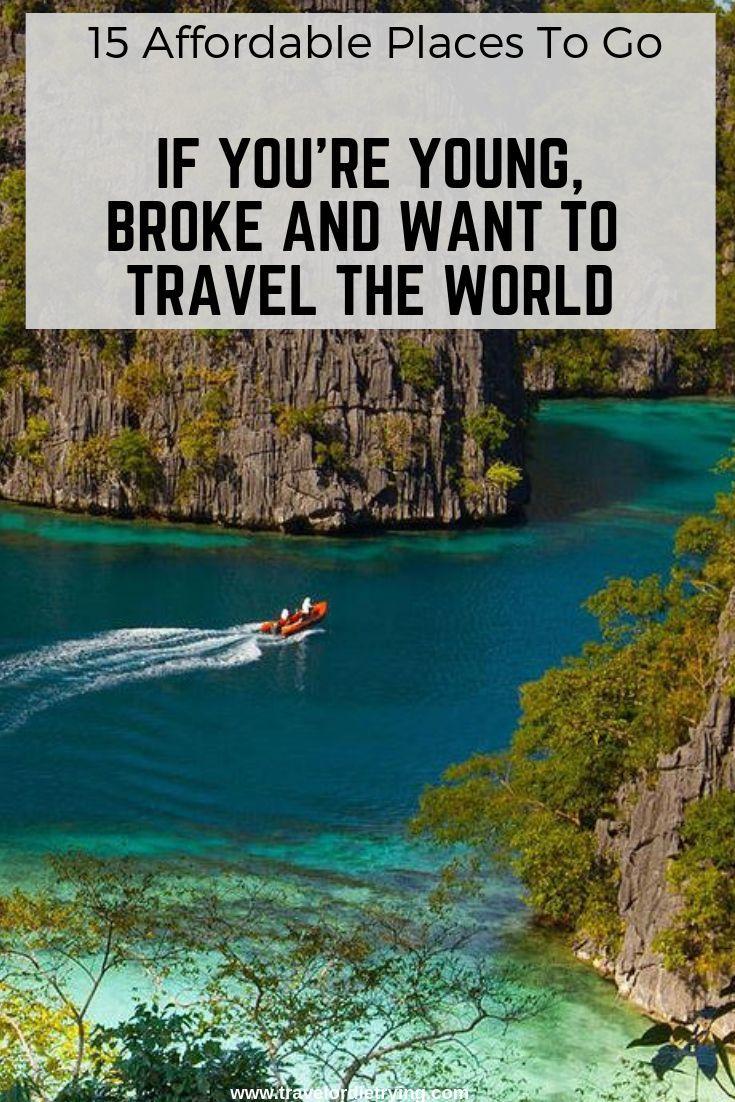 15 lugares acessíveis para ir se você é jovem, quebrou e quer viajar pelo mundo