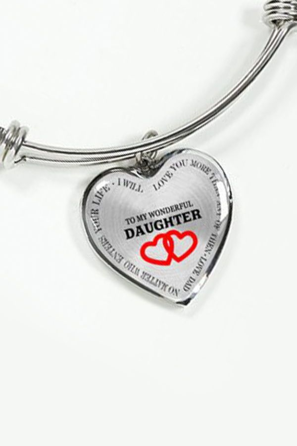 c5c258f94c1 Beautiful To My Daughter Necklace From Dad - Best Gift for Birthday