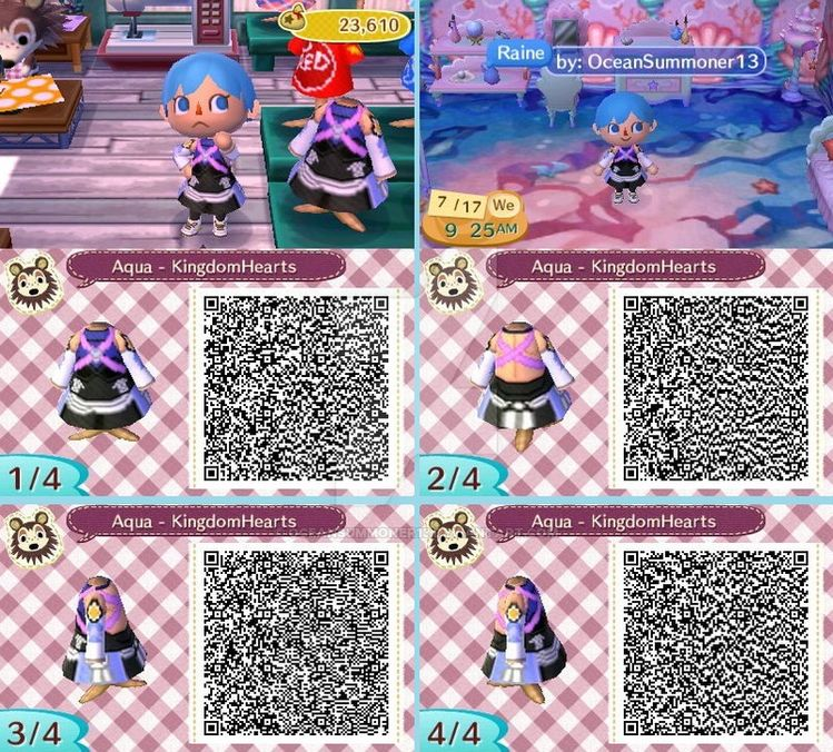 Image Result For Animal Crossing Kingdom Hearts Qr Codes