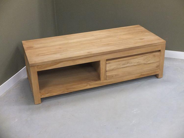 Teak tv meubel kast