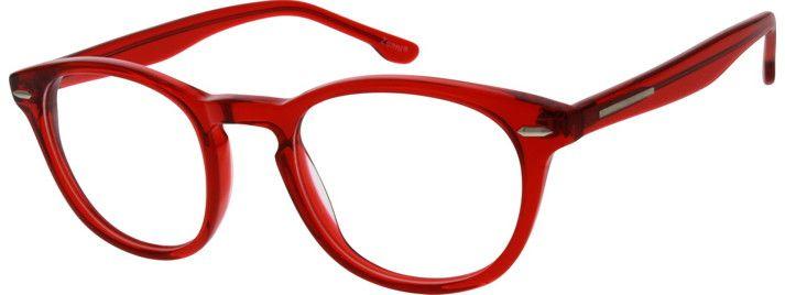 032b4689d9 Red Round Glasses  104218