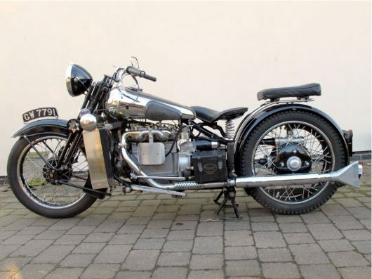 A very distant relative.  An Austin 7 motor in this Brough Superior.  The top 100 most expensive motorcycles sold at auction