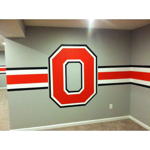 Pin By Cheri Randle On Buckeyes Ohio State Rooms Man Cave