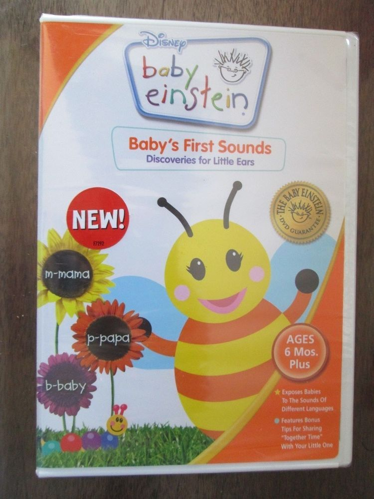Disney Baby Einstein Baby S First Sounds Discoveries For