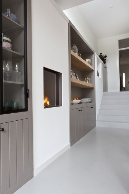 1000 images about kast op maat on pinterest fireplaces tes and joinery. Black Bedroom Furniture Sets. Home Design Ideas
