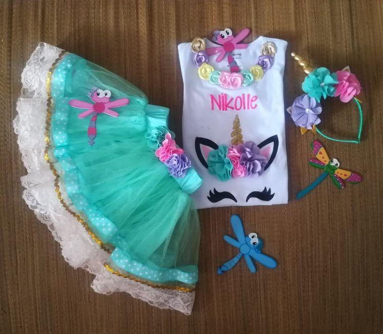 Conjunto tuttu personalizados unicornio Abilia Shopping Whatsapp 3132196957 55cc0115c54