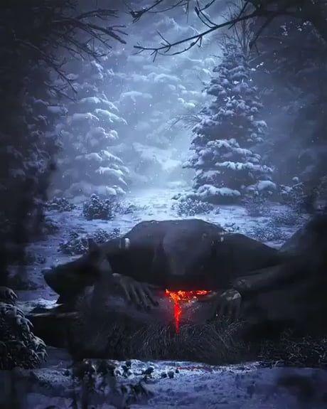 Fathermaddnes hunting werewolf