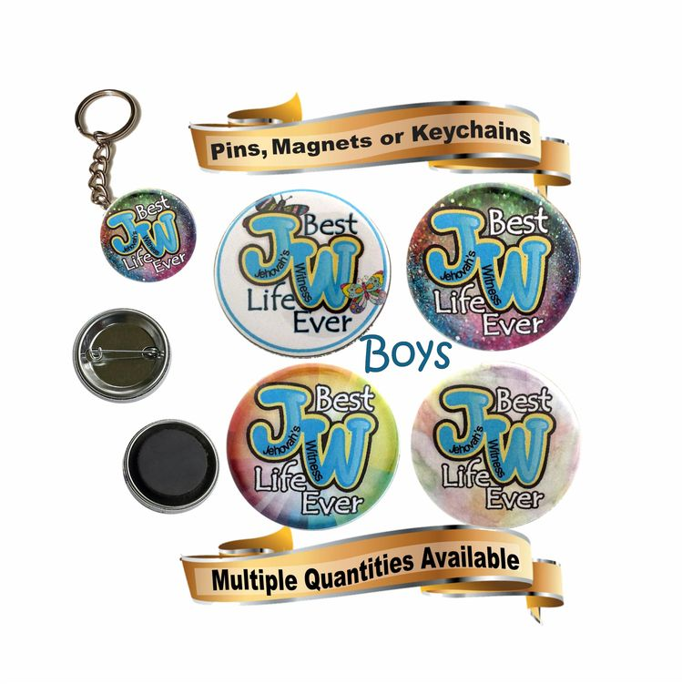 JW gifts/JW kids gifts/JW pin,magnet,keychain,key ring with