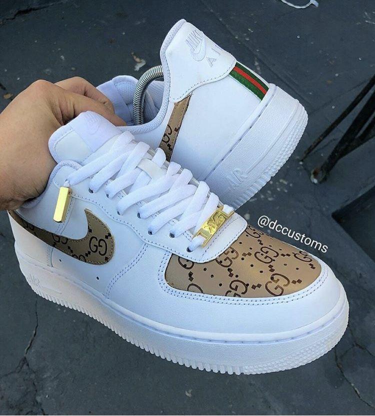 SCHUHE#shoes #sneaker #style #running #nike #nikesportswear #cute #white #brown #beige #gold #LOVEIT