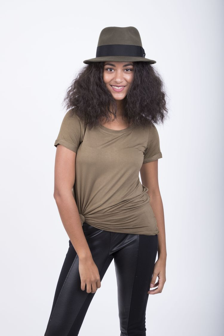 Compass - Walrus Hats Olive Diamond Crown Wool Felt Fedora Hat. Perfect hat  for your everyday look 3849fbe85f91